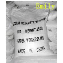 Chine Hexametaphosphate de sodium alimentaire / catégorie industrielle