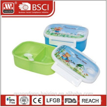 Sectional Plastic Lunch Box Food Container