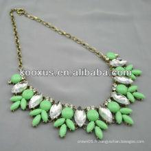 Collier de col en forme de bijoux en gros petite commande acceptée