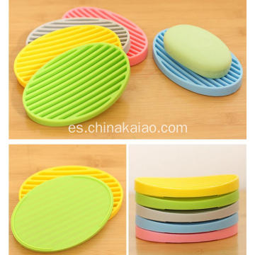 Silicone Gift Custom Color Yellow Holder Jabonera