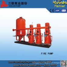 Pompe d'incendie d'alimentation d'eau de conversion de pression constante