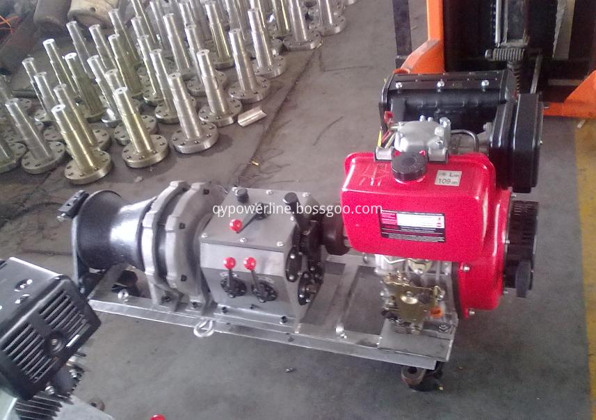 Engine Powered Winch Gas Winch