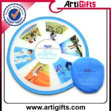 Impression de logo personnalisé bon marché disques de frisbee ultime