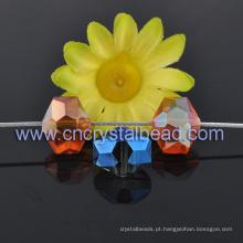 Novo Design Hexagonal de cristal de vidro grânulo para lustre gota