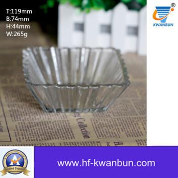 Rectangle Glass Bowl Kitchenware Good Price Kb-Jh06075
