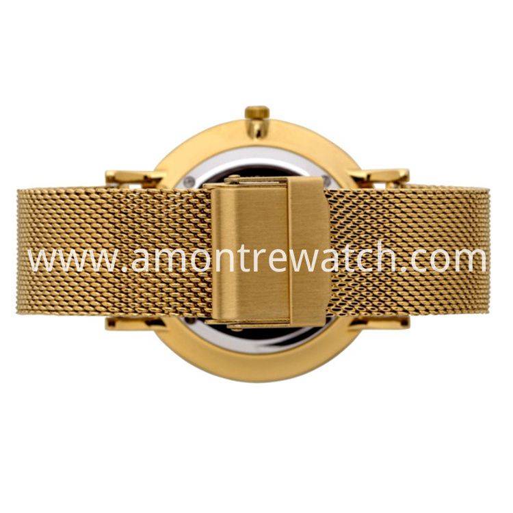 gold dress watch