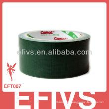 2014 nuevo materail verde paño cinta de conducto personalizado