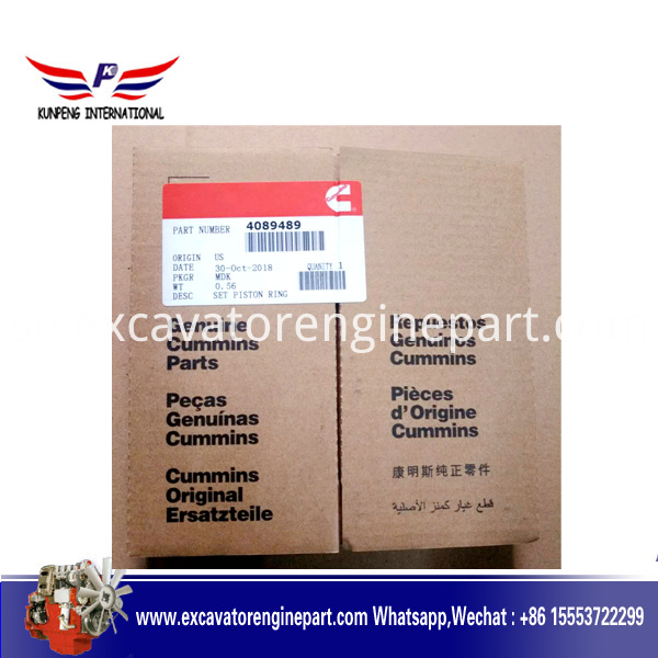 Aftermarket diesel engine parts NTA855 N14 piston ring 4024942 3804500 4089489 3803990