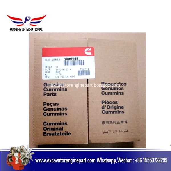 Aftermarket diesel engine parts NTA855 N14 piston ring 4024942 3804500 4089489 3803990