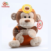 Custom plush monkey toys no minimum