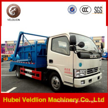Dongfeng 4*2 8cbm Swing Arm Garbage Truck Refuse Collecting Truck