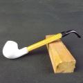 Hand Made Long Ebony Made Cheap Tobacco Smoking Pipe