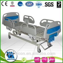 Luxury 3 Function hand operated with ABS Manual Hospital Bed