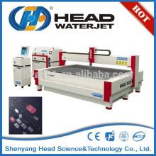 Pocas operaciones secundarias necesidad de corte de agua de corte de aleación de monel máquina de corte