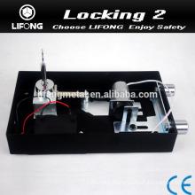Cylinder locks for safe locker with motor