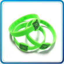 Custom Logo Printed RFID Silicone Wristbands