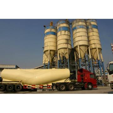 39cbm Bulk Dry Powder Property Bulk Cement Tank Trailer (HZZ9400GFL)