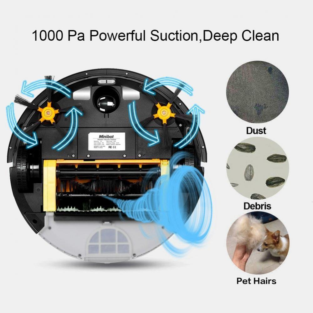Big Suction Vacuum Smart Robot Cleaner 3