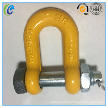 G80 Type de boulon G2150 Shackle