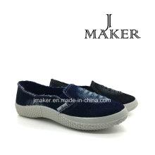 Amrican Style Hot Sale Moda Denim Sapatos Jm2070