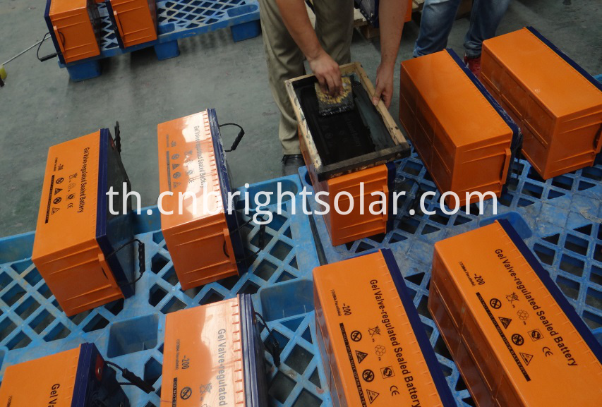 High Efficency 12V 100AH Solar Battery