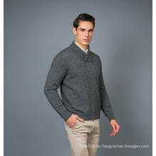 Männer Mode Kaschmir Blend Pullover 17brpv080