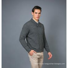 Suéter de la mezcla de la cachemira de la manera de los hombres 17brpv080