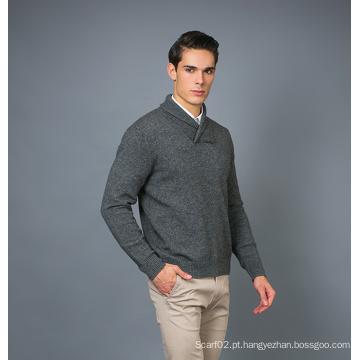 Men's Fashion Cashmere Blend Sweater 17brpv080