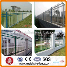 Spear Top Metal Fence