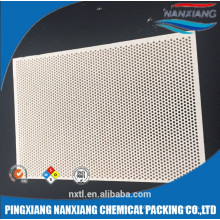 wholesale far infrared honeycomb ceramic plate for gas furnace parts