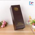 Chinesische Lieferanten kundenspezifischer Weinlesespezialpapierkarton Weinkasten mit Magneten