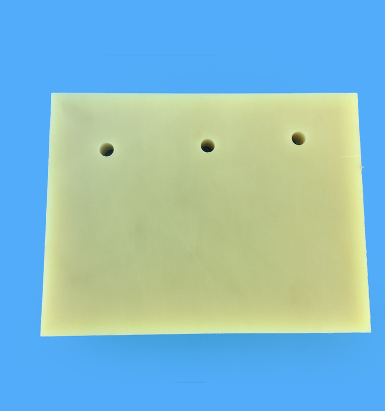 Natural Color Polyamides Plate
