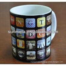 Transferencia de calor de la sublimación 11oz taza barata blanca