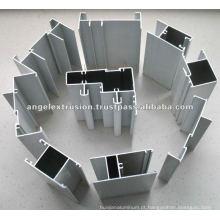 Perfil de alumínio para moldura de janelas