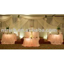 charming organza table cloth ,banquet table cloth,