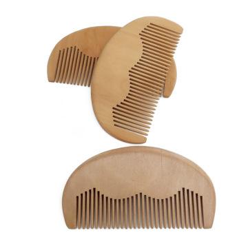 FQ marca Amazon hombres venta caliente bolsillo de madera barba peine