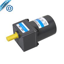 15w 1ph 3ph motor de inducción de CA ligero con caja de cambios
