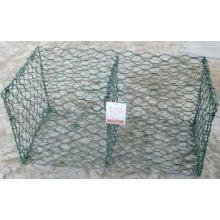 Gabion Box, Gabion Mesh, Malla de alambre hexagonal, Malla de alambre de pollo