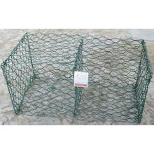 Caixa de Gabion, malha de Gabion, rede de arame sextavada, rede de arame de galinha