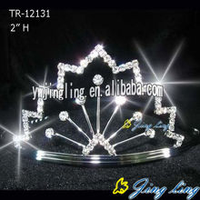 Joyería de la boda Tiaras Pageant Queen Crown