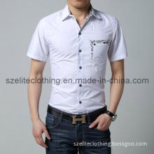 2014 Summer Short Sleeve White Shirts (ELTDSJ-95)