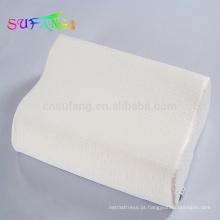 Roupa de cama do hotel / travesseiro high-density do hotel 5 estrelas / descanso shredded da espuma da memória / descanso de bambu