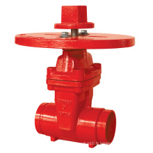 UL, 200psi-Nrs Type Grooved End Gate Valve Z85