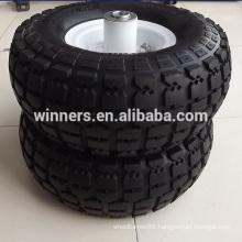 10 inch 4.10/3.50-4 pneumatic wheel, rubber wheel