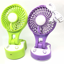 Newest rechargeable USB Mini Fan with Led lights