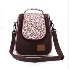 Rosa Leopard-Druck-Art und Weise große Kapazitäts-Mama-Tasche