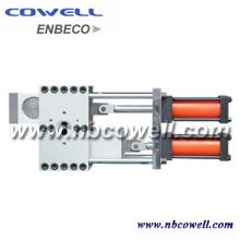 Trocador de tela hidráulica para máquina de extrusão