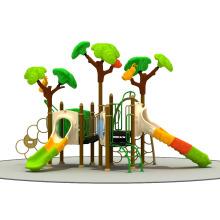 Самый продаваемый Ce сертификат Коммерческая пластиковая детская площадка