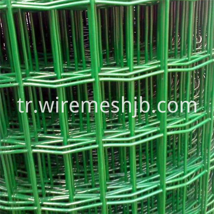PVC Coated Welded Mesh Fencing
