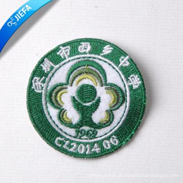 Benutzerdefinierte High End Stickerei Patch für Kleidung